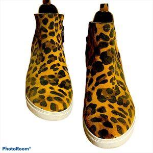 Blondo waterproof animal print suede sneaker 11